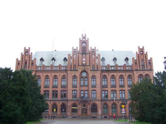 Budynek Poczty Głównej w Koszalinie
