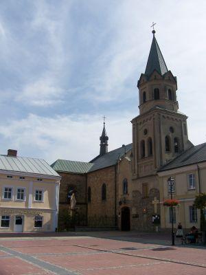 Kościół franciszkanów w Sanoku