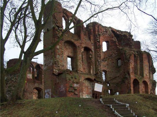 Zamek von Dewitzów w Dobrej