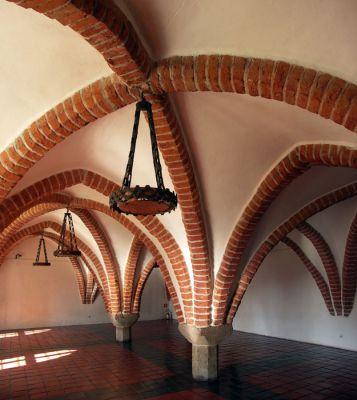 Zamek biskupi w Lidzbarku Warmińskim - wnętrze