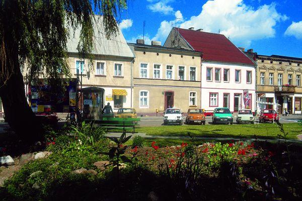 Łabiszyn, rynek
