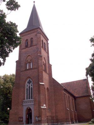 Olsztynek, kościół katolicki