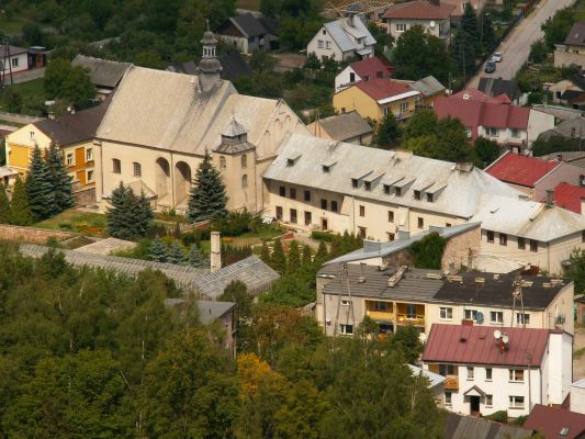 Zespół klasztorny Klarysek w Chęcinach