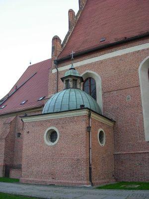 Katedra bydgoska - kaplica p.w. św. Krzyża (XVII w.)