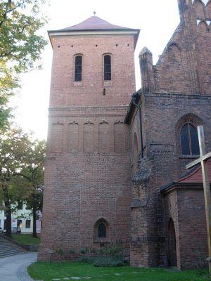 Katedra bydgoska - wieża dzwonnicy (XVI w.)