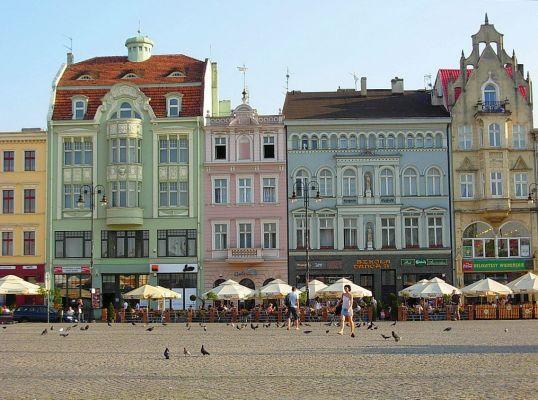 Południowa pierzeja Starego Rynku w Bydgoszczy