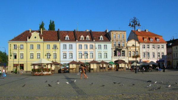 Stary Rynek w Bydgoszczy - wschodnia pierzeja