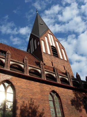 Wieża kościoła Miłosierdzia Bożego w Bydgoszczy