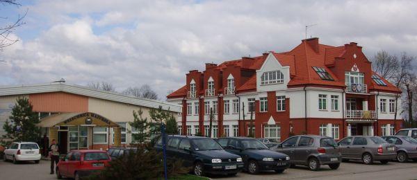 Budynki Wszechnicy Mazurskiej w Olecku