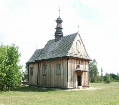 Kościół z Rogowa w Muzeum Wsi Kieleckiej w Tokarni