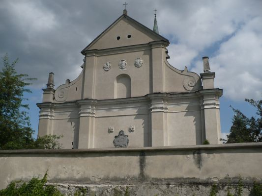 Raków, kościół Św. Trójcy zbudowany na gruzach zboru ariańskiego
