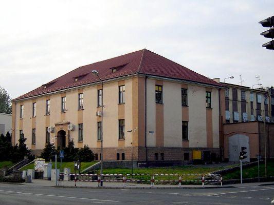 Budynek sądu w Choszcznie