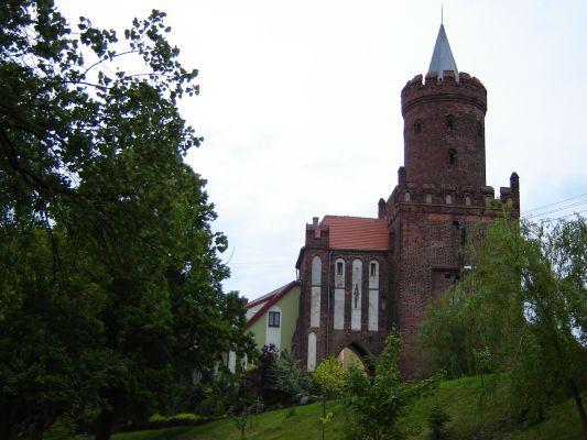 Wieża Piastowska i Brama Wolińska w Kamieniu Pomorskim