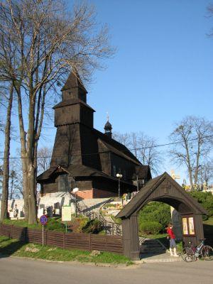 Kościół drewniany w Pielgrzymowicach