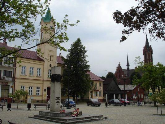 Rynek w Kołaczycach