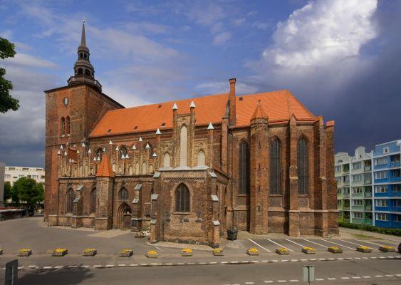 Słupsk - Kościół św. Jacka