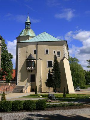 Zamek Książąt Pomorskich w Słupsku - tył zamku