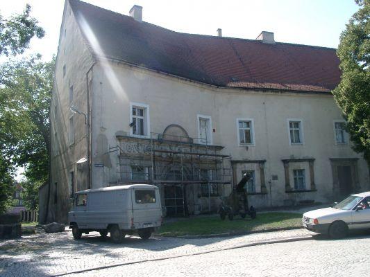 Muzeum (dawniej jeden z zamków Piastów Śląskich) w Chojnowie