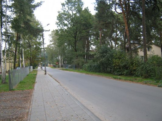 Ulica Adama Mickiewicza w Halinowie