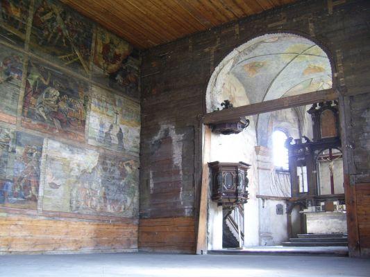 Wnętrze kościoła św. Jerzego w Gliwicach