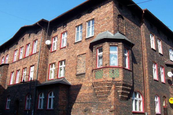 Elewacja familoka w Nikiszowcu