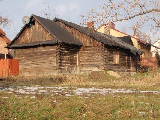 Dom drewniany przy ul. Browarnej w Sławkowie
