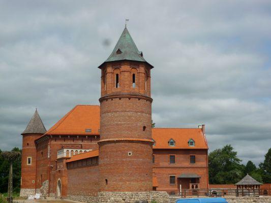 Zamek w Tykocinie, zbudowany w 1433 r.