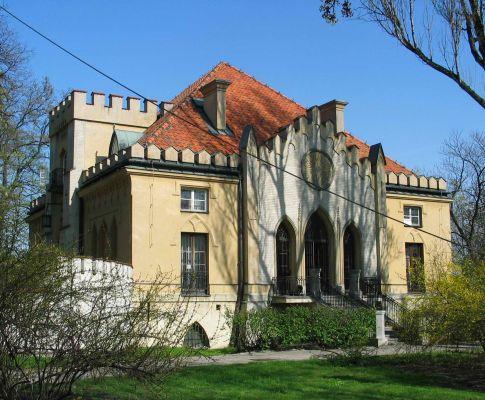 Pałac Szustra - strona zachodnia