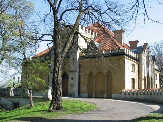 Warszawa - Pałac Szustra - strona północna