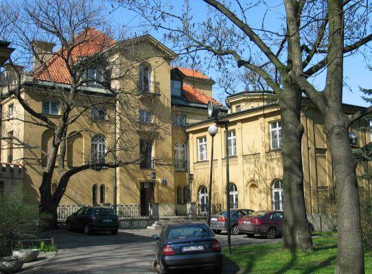 Warszawa - Pałac Szustra - strona południowa