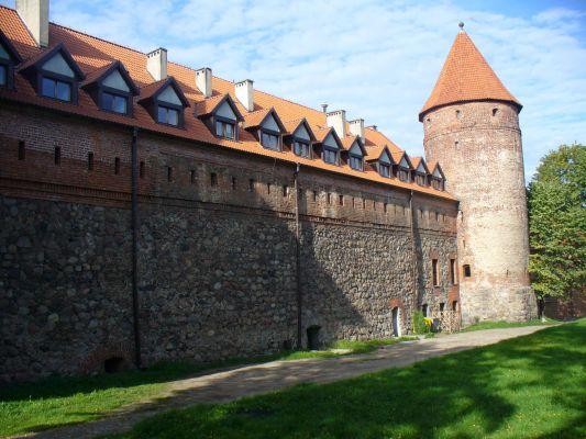 Zamek krzyżacki w Bytowie z XIV wieku