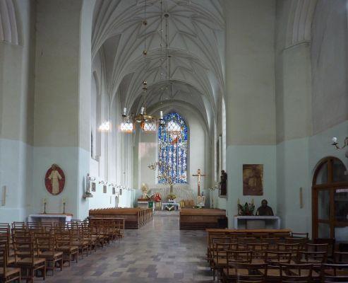 Kościół św. Józefa w Gdańsku - nawa główna