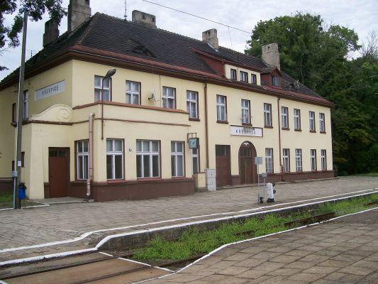 Stacja kolejowa Krzepice