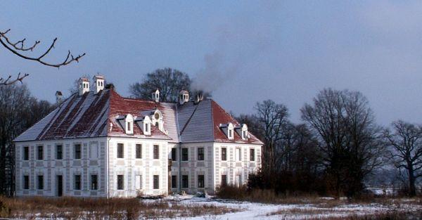 Pałac w Lasocinie z 1670 roku