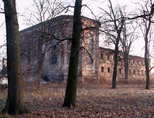 Ruiny klasztoru w Otyniu