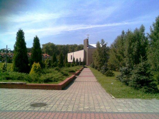 Kościół Parafia Podwyższenia Krzyża Świętego i św. Herberta w Katowicach - os. Witosa