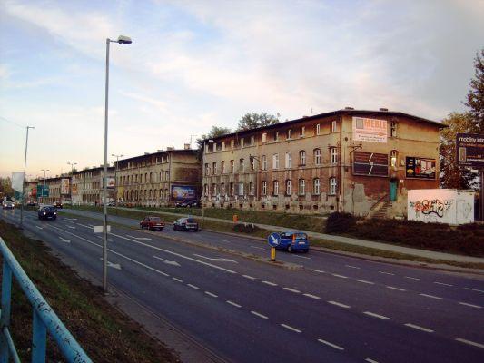"""Załęże - Bocheńskiego - droga na były """"Czorny"""""""