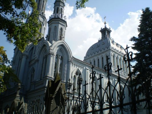 Mariawicka Świątynia Miłosierdzia i Miłości w Płocku -front