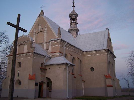 Kościół farny pw. Wniebowzięcia NMP w Solcu nad Wisłą
