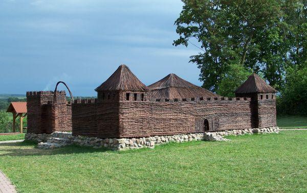 Zamek wiklinowy w Solcu nad Wisłą