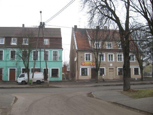 Iłowo-Osada - budynki przy ulicy Wyzwolenia