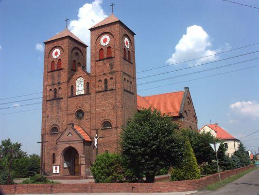 Kościół parafialny w Czuchowie.