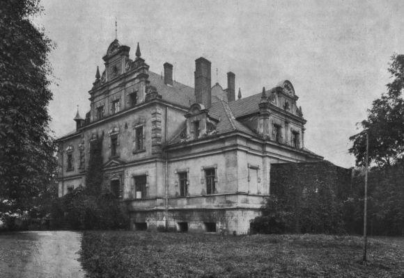 Zamek w Czuchowie ok. 1906r