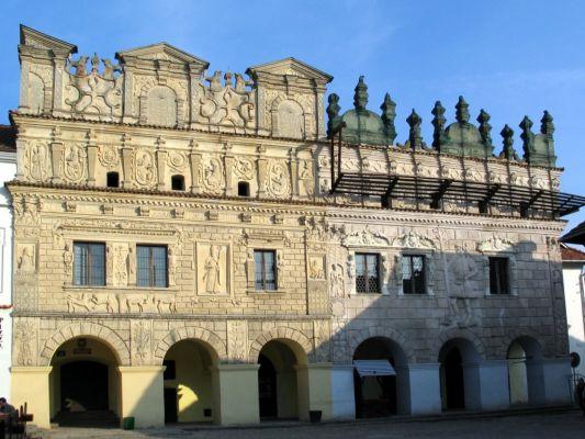 Kamienice Przybyłów przy Rynku w Kazimierzu Dolnym