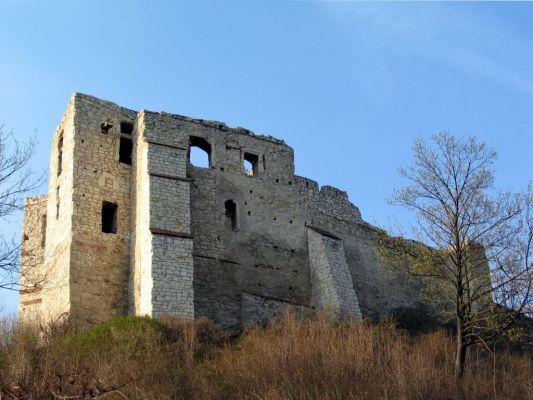 Kazimierz Dolny - ruiny zamku