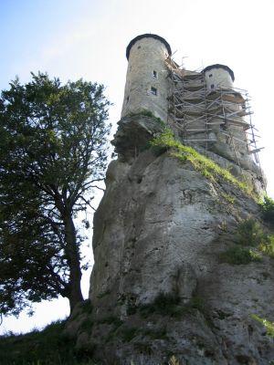 Zamek Bobolice - baszta