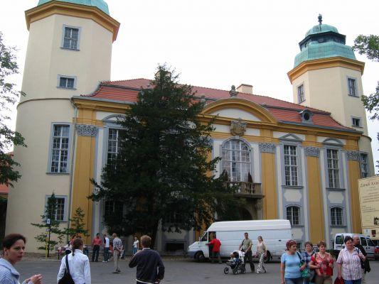 Brama zamku Ksiąz - od zewnątrz