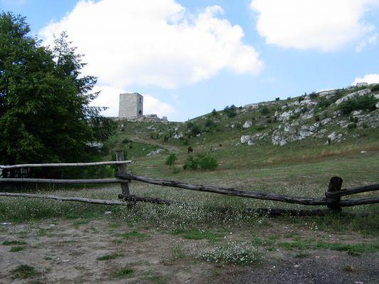 Droga do zamku w Olsztynie