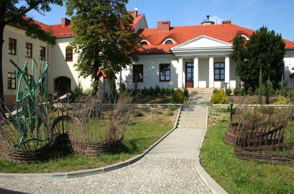 Dworek Machnickich w Olkuszu wraz z centrum kulturalnym