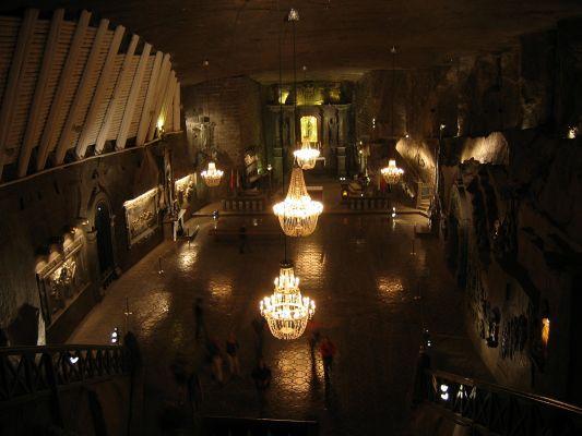Kopalnia w Wieliczce - kaplica św. Kingi